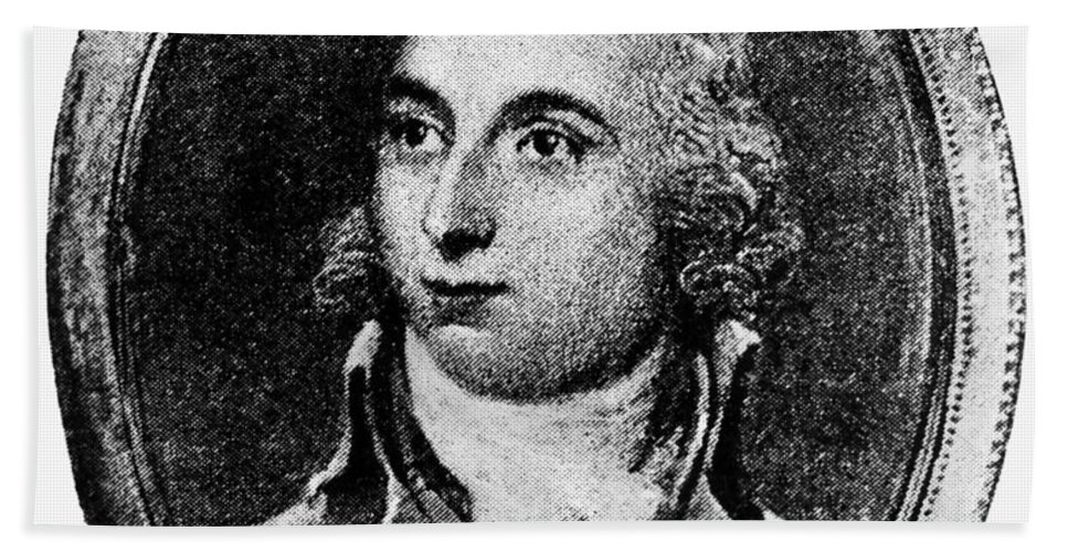 1800 Bath Sheet featuring the photograph Thomas Boylston Adams by Granger