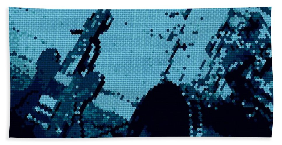Musical Hand Towel featuring the photograph Time Out by Chris Berry