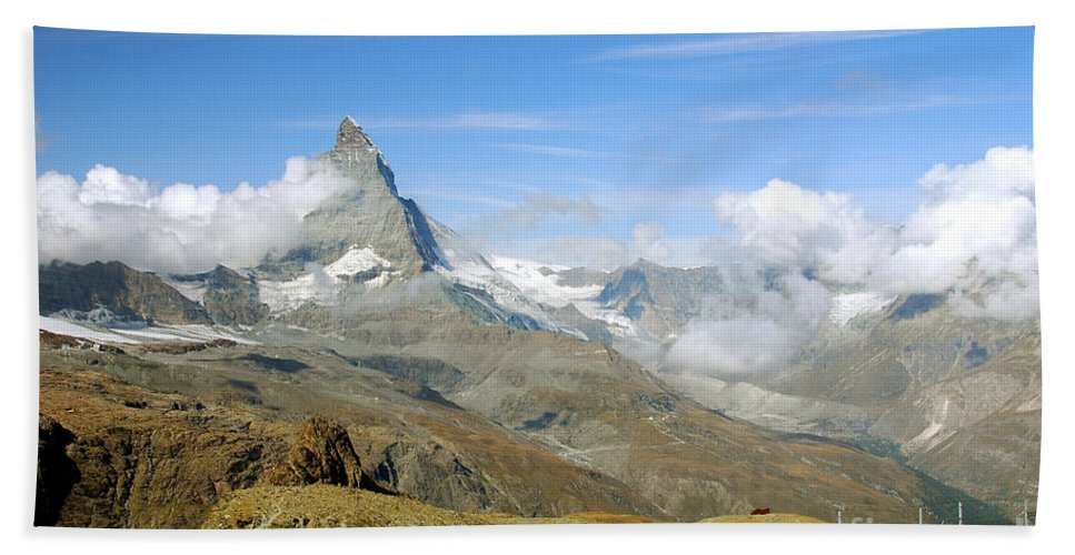 Photography Hand Towel featuring the photograph To The Summit by Ivy Ho