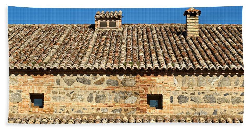 Spain Bath Sheet featuring the photograph Toledo Terra Cotta by John Greim