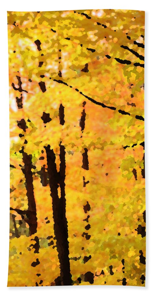 Autumn Hand Towel featuring the photograph Too Much by Ian MacDonald