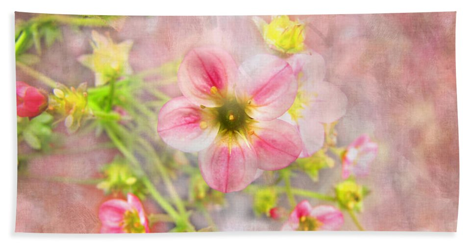 Plants Bath Sheet featuring the photograph Touch Of Spring by Debbie Portwood