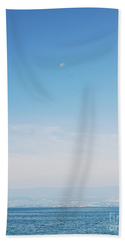Lake Geneva Photo Hand Towel featuring the photograph Tranquil Waters by Ivy Ho