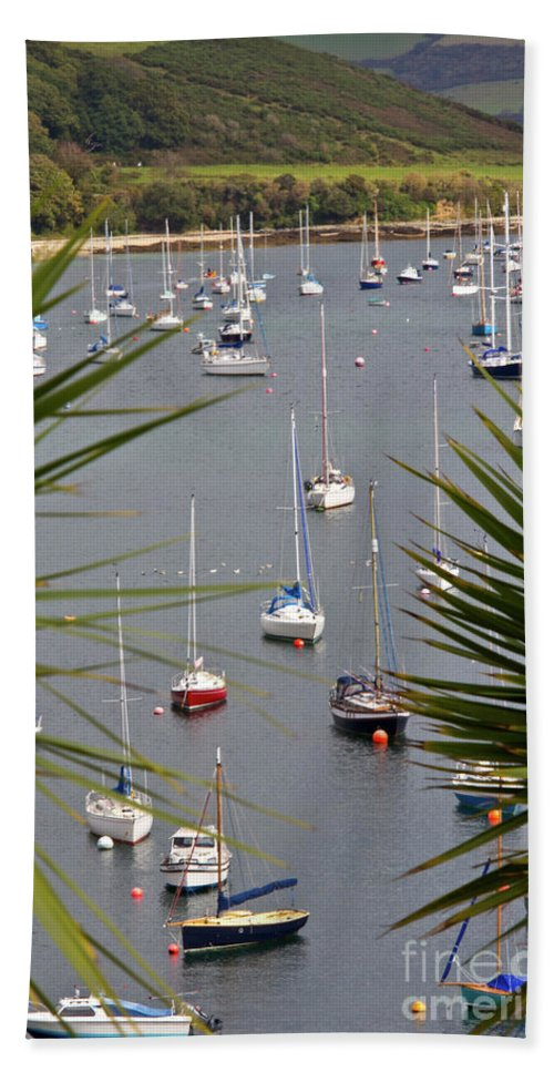 Falmouth Bath Sheet featuring the photograph Tranquillity by Brian Roscorla