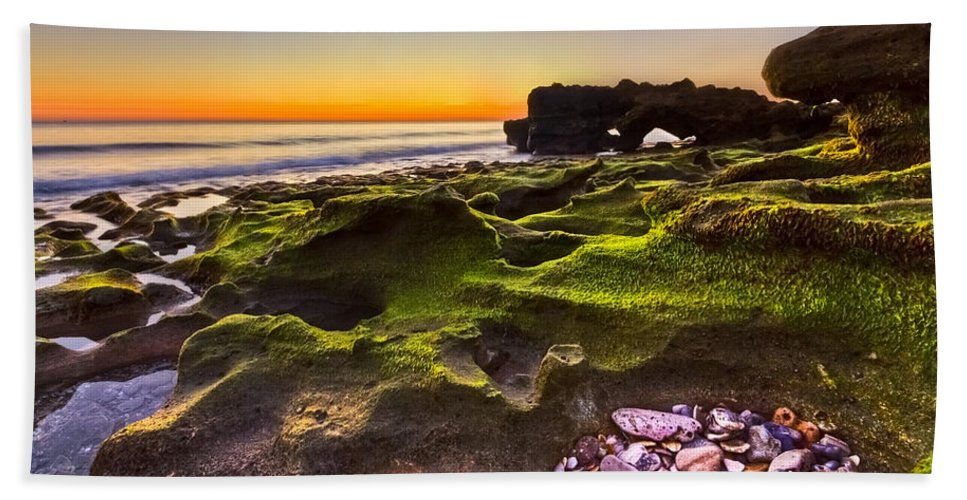 Blowing Rocks Hand Towel featuring the photograph Treasure Trove by Debra and Dave Vanderlaan