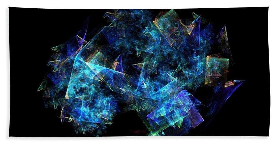 Tree Hand Towel featuring the digital art Tree Of Knowledge by Klara Acel
