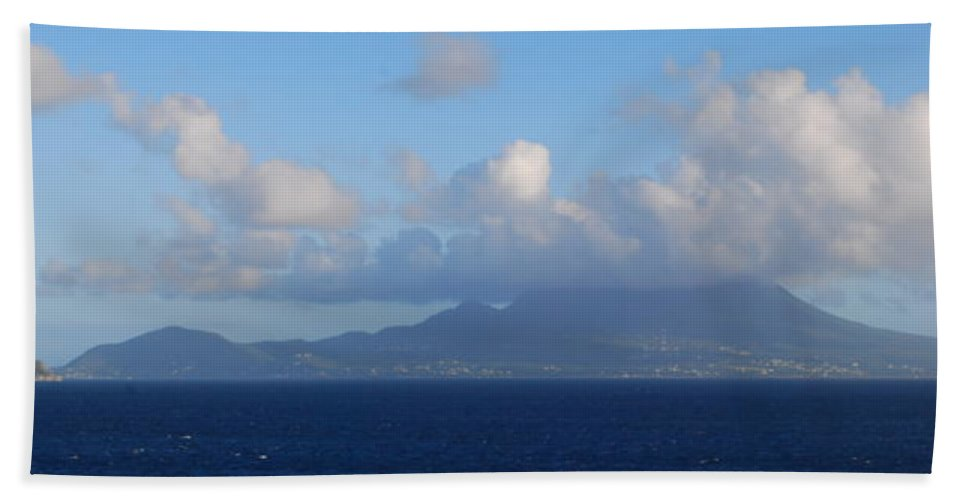 Tropical Island Hand Towel featuring the photograph Tropical Mist by Gary Wonning