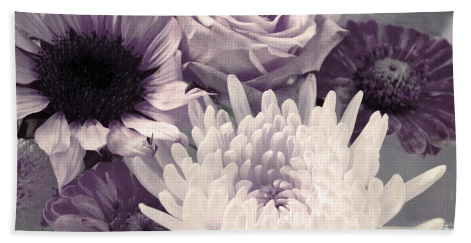 Flowers Hand Towel featuring the photograph Trust by Tara Turner