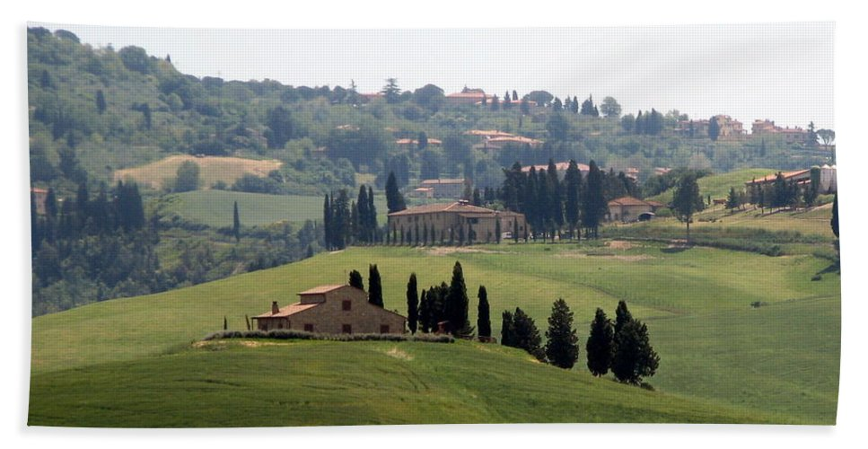 Tuscany Bath Sheet featuring the photograph Tuscany by Carla Parris