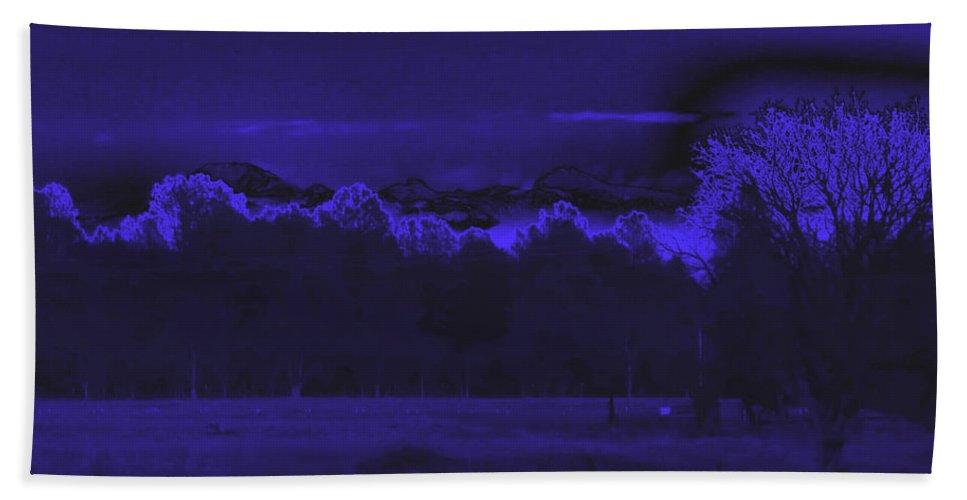 Twilight Bath Sheet featuring the photograph Twilight by Joyce Dickens