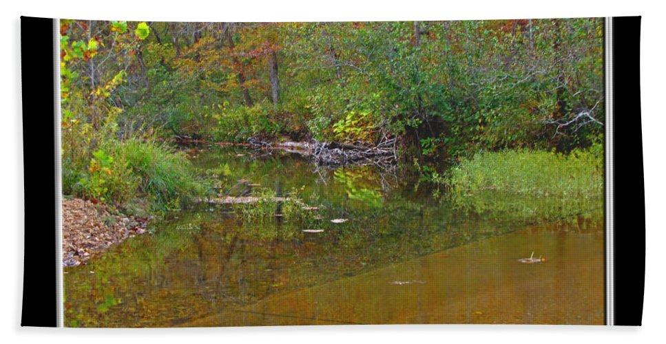 Bath Sheet featuring the photograph Up The Creek by Debbie Portwood