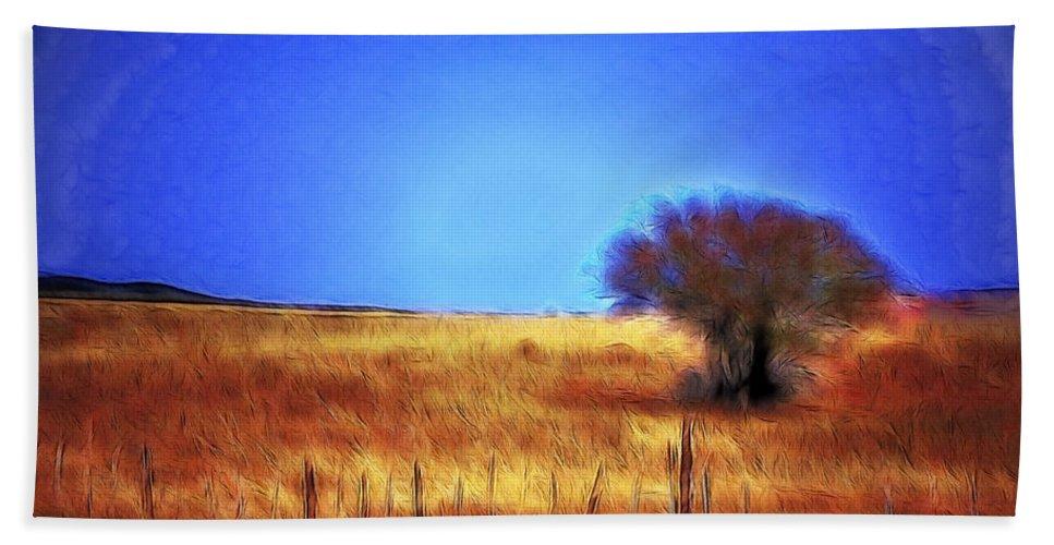 Fine Art Bath Sheet featuring the photograph Valley San Carlos Arizona by Donna Greene