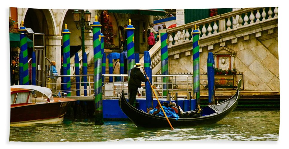 Venice Bath Sheet featuring the photograph Venetian Colors by Eric Tressler