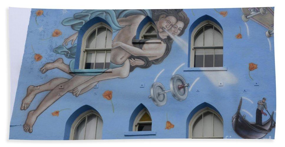 Wall Art Hand Towel featuring the photograph Venice Beach Wall Art 8 by Bob Christopher