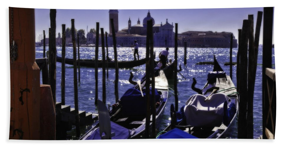 Venice Bath Sheet featuring the photograph Venice Dream by Madeline Ellis