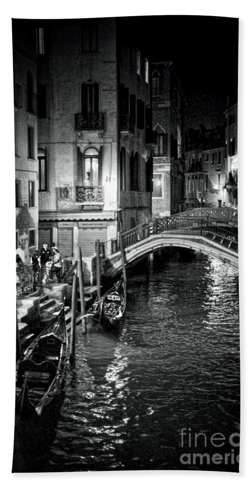 Venice Bath Sheet featuring the photograph Venice Evening by Madeline Ellis