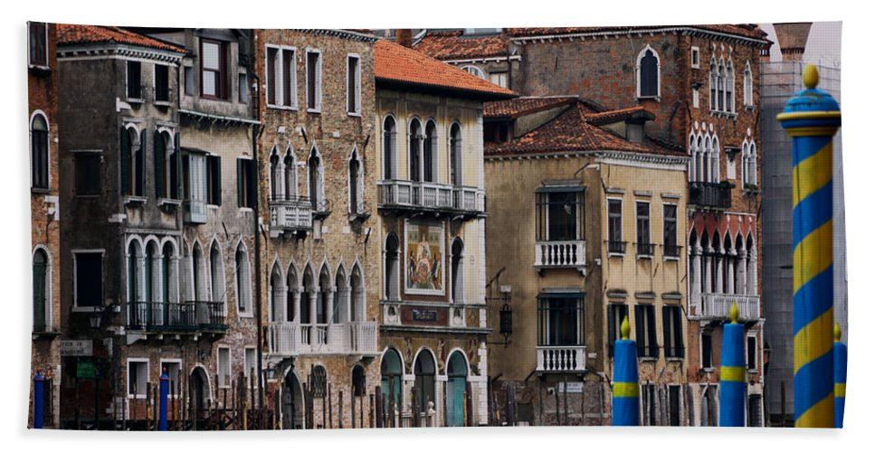 Venice Hand Towel featuring the photograph Venice by Ivan Slosar