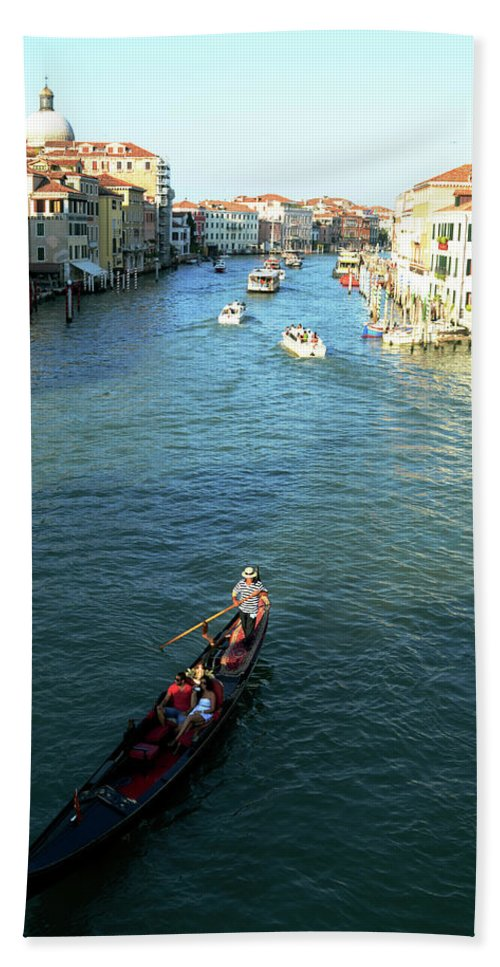 Italy Bath Sheet featuring the photograph Venice View by La Dolce Vita