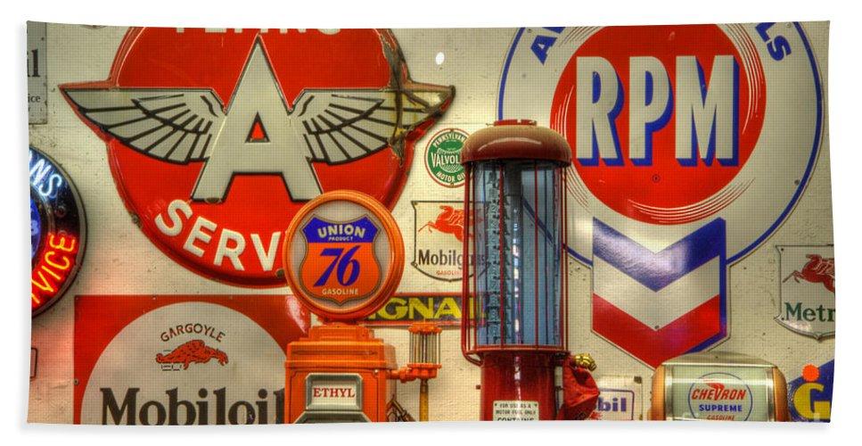 Vintage Signs For Sale >> Vintage Signs 1 Bath Towel