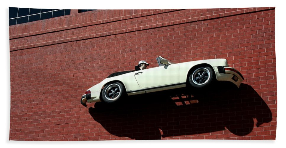 Brick Hand Towel featuring the photograph Vroom by Ric Bascobert