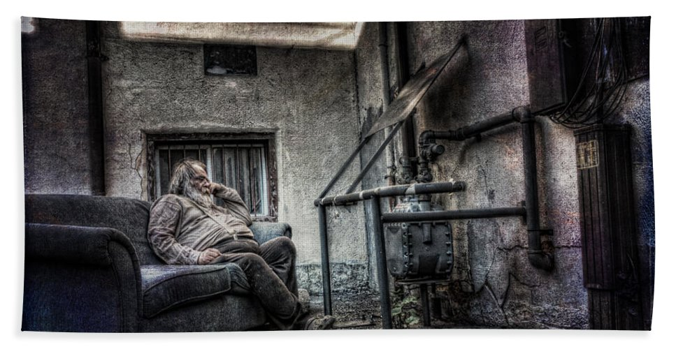 Acrylic Prints Hand Towel featuring the photograph Waiting For The Gas Pressure To Rise by John Herzog