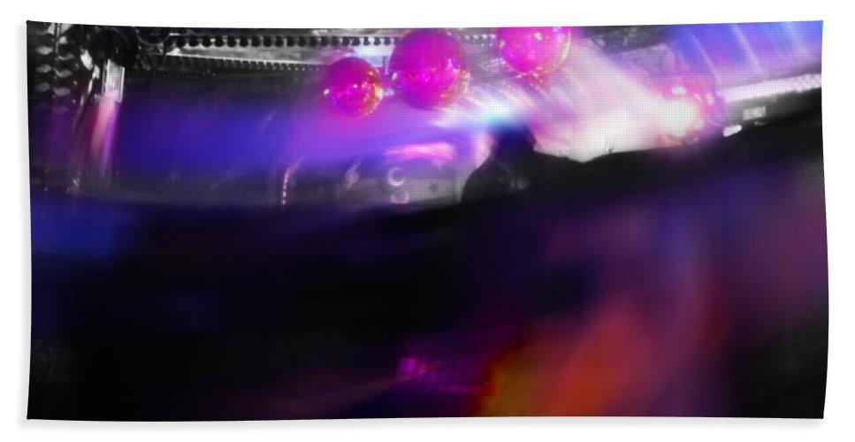 Balls Hand Towel featuring the digital art Waltzer Balls by Charles Stuart