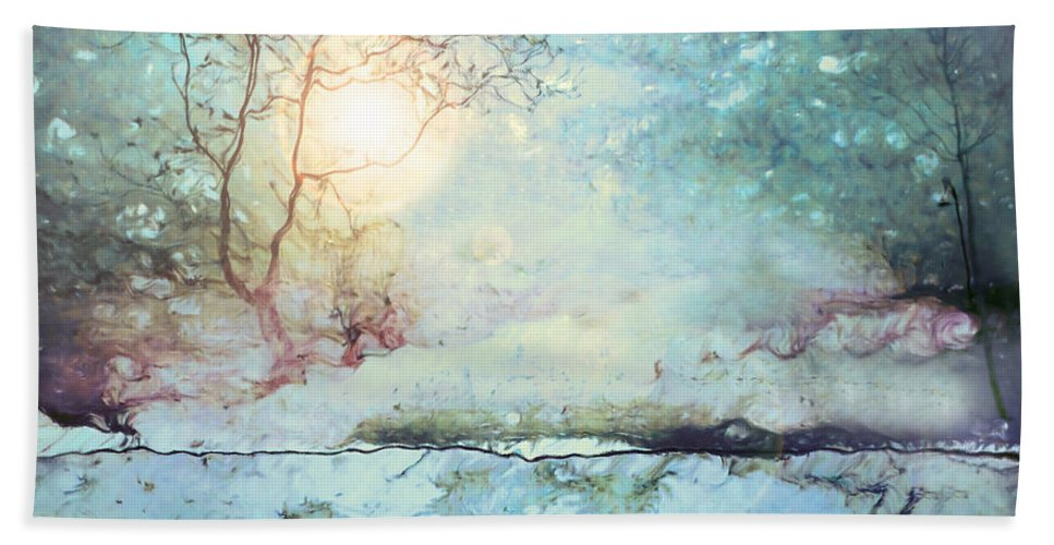 Light Hand Towel featuring the photograph Wandering In The Light by Tara Turner