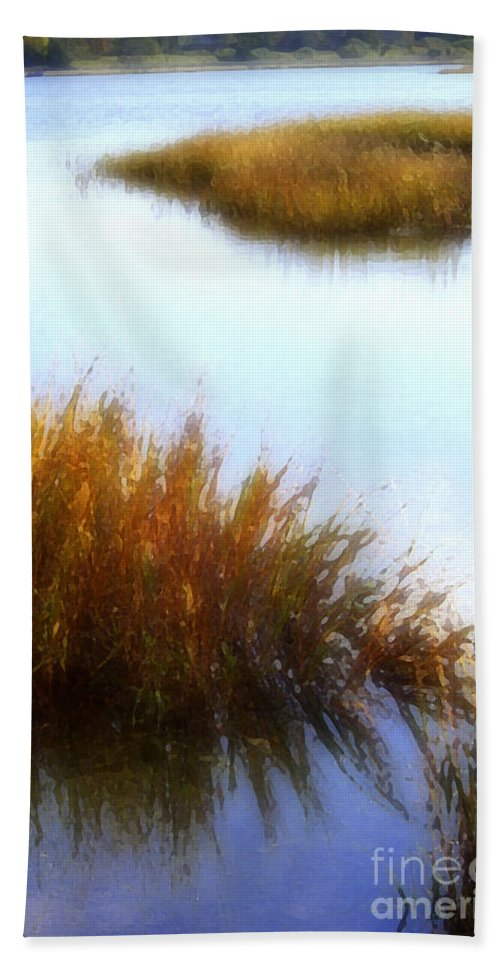 Digital Bath Sheet featuring the photograph Watercolours 141 by Mike Nellums