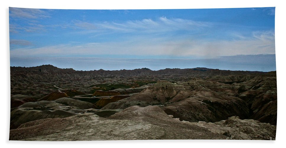 Landscape Bath Sheet featuring the photograph Western Usa by Susan Herber
