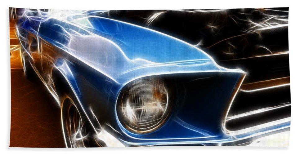 Cars Bath Sheet featuring the digital art What A Shine by Adam Vance