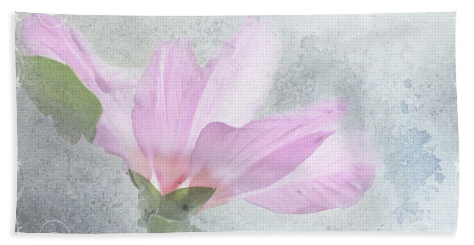 Botanical Hand Towel featuring the photograph Whisper To Me by Debbie Portwood
