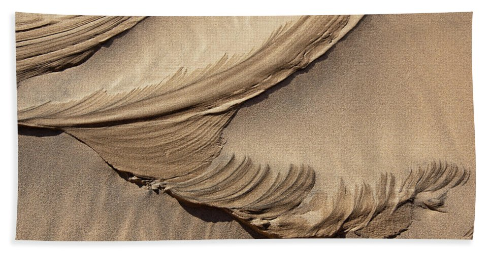 Sand Bath Sheet featuring the photograph Wind Creation by Kelley King