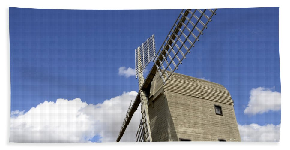 Windmill Hand Towel featuring the photograph Windmill 7 by Bob Christopher