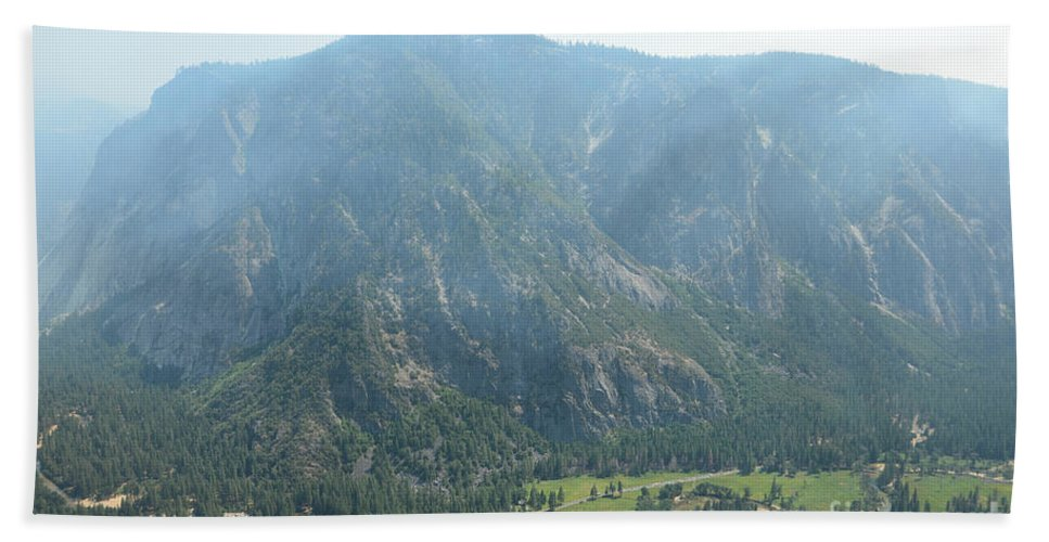 Yosemite National Park Hand Towel featuring the photograph Yosemite Valley by Cassie Marie Photography