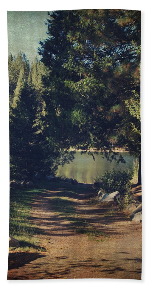 White Pines Lake Hand Towel featuring the photograph You'll Never Understand by Laurie Search