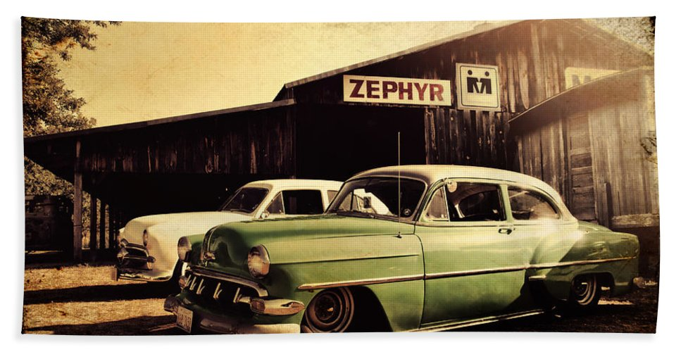 Chevy Bath Sheet featuring the photograph Zephyr by Joel Witmeyer