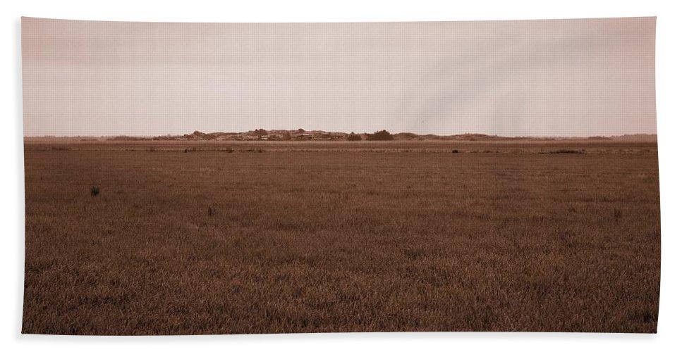Lehtokukka Hand Towel featuring the photograph Dunes Of Danmark 3 by Jouko Lehto