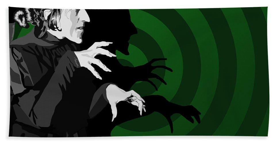 Tamify Bath Sheet featuring the digital art 009. Destroy My Beautiful Wickedness by Tam Hazlewood