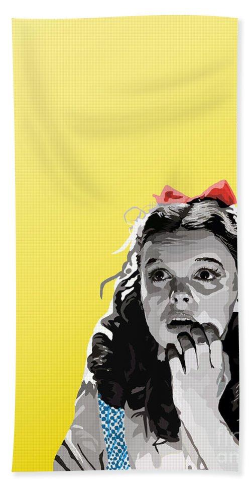 Dorothy Bath Sheet featuring the digital art 010. Follow by Tam Hazlewood