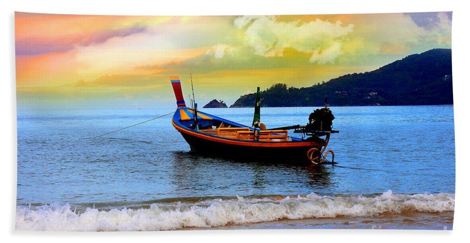 Thailand Bath Towel featuring the photograph Thailand by Mark Ashkenazi