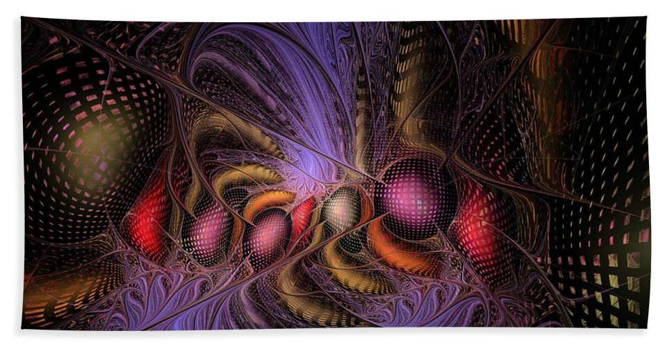 Graffiti Hand Towel featuring the digital art A Student Of Time by NirvanaBlues