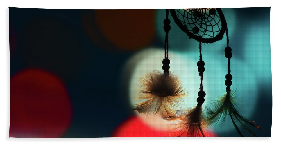 Against Hand Towel featuring the photograph Abstract Background by Chanitsirikarn Na Chiangmai
