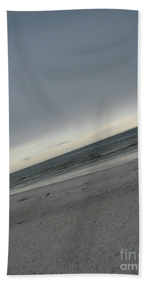 Ocean Hand Towel featuring the photograph Abstract Sea by Amanda Barcon