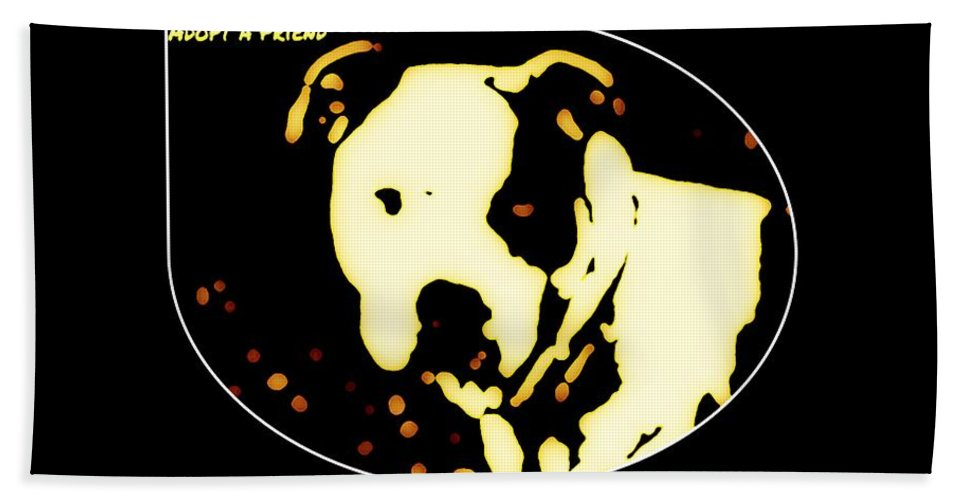 Hand Towel featuring the photograph Adopt A Friend by Heather Joyce Morrill