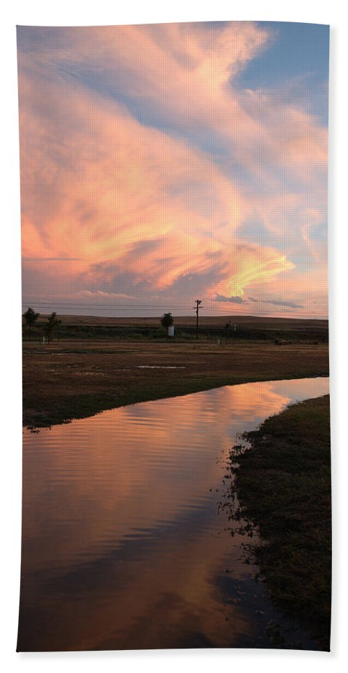 Clouds Hand Towel featuring the photograph After The Storm by Jerry McElroy