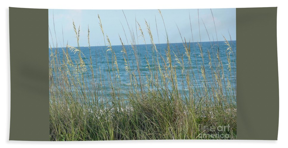 Beach Hand Towel featuring the photograph Afternoon At The Beach by Barb Montanye Meseroll