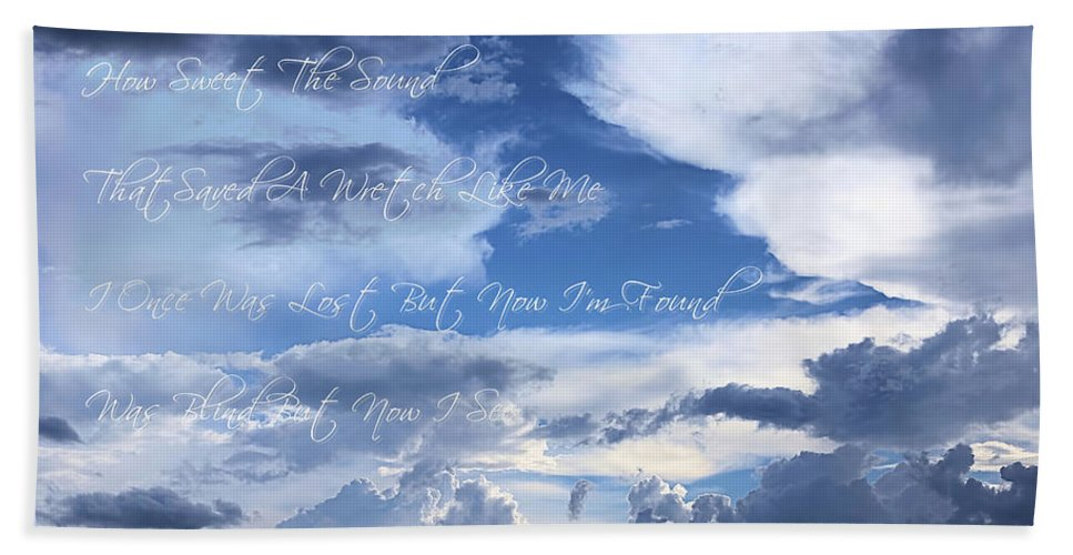Amazing Grace Bath Sheet featuring the photograph Amazing Grace by Theresa Campbell