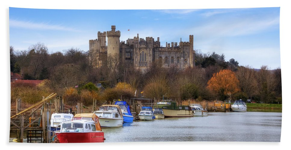 Arundel Castle Bath Sheet featuring the photograph Arundel Castle by Joana Kruse