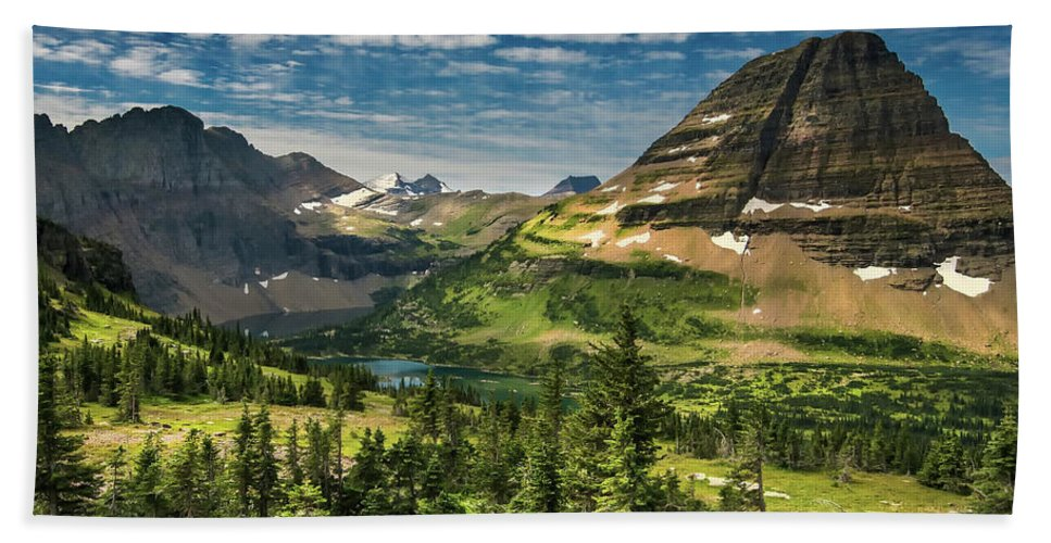 Glacier National Park Bath Sheet featuring the photograph Big Sky Country by Nps