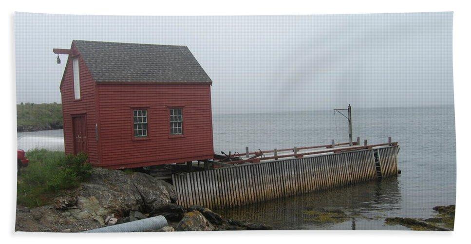 Photograph Bonavista Island Atlantic Ocean Newfoundland Bath Sheet featuring the photograph Bonavista by Seon-Jeong Kim